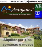 Alquiler por días semanas o meses en Apartamentos Rurales Antojanes
